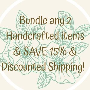 💚Bundle & SAVE 15% plus shipping discount